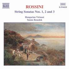 Gioacchino Rossini (1792-1868): Streichersonaten Nr.1-3, CD