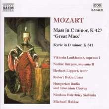 "Wolfgang Amadeus Mozart (1756-1791): Messe KV 427 c-moll ""Große Messe"", CD"