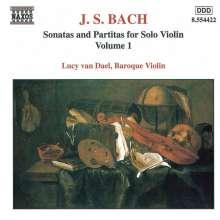 Johann Sebastian Bach (1685-1750): Sonaten & Partiten für Violine BWV 1001-1003, CD