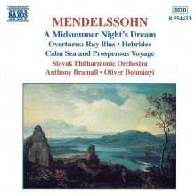Felix Mendelssohn Bartholdy (1809-1847): Ein Sommernachtstraum (Ausz.), CD