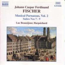 Johann Caspar Ferdinand Fischer (1656-1746): Musicalischer Parnassus Vol.2, CD