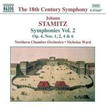 Johann Stamitz (1717-1757): Symphonien Vol.2, CD