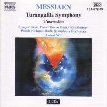 Olivier Messiaen (1908-1992): Turangalila-Symphonie, 2 CDs