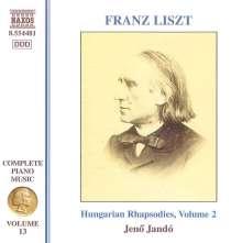 Franz Liszt (1811-1886): Klavierwerke Vol.13, CD