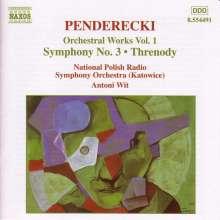 Krzysztof Penderecki (1933-2020): Symphonie Nr.3, CD