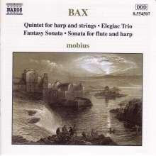 Arnold Bax (1883-1953): Kammermusik mit Harfe, CD