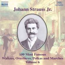 Johann Jr. Strauss: 100 Berühmteste Werke V, CD
