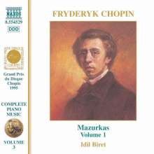 Frederic Chopin (1810-1849): Mazurken Vol.1 (Nr.1-26), CD