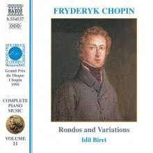 Frederic Chopin (1810-1849): Rondos opp.1,5,16,73, CD