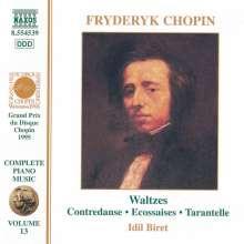 Frederic Chopin (1810-1849): Walzer Nr.1-19, CD