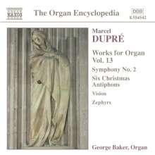 Marcel Dupre (1886-1971): Orgelwerke Vol.13, CD