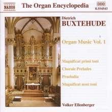 Dieterich Buxtehude (1637-1707): Orgelwerke Vol.1, CD