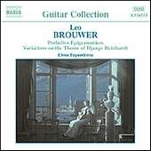 Leo Brouwer (geb. 1939): Gitarrenwerke Vol.2, CD