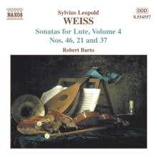 Silvius Leopold Weiss (1687-1750): Lautensonaten Vol.4, CD