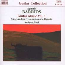 Agustin Barrios Mangore (1885-1944): Gitarrenwerke Vol.1, CD