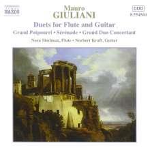 Mauro Giuliani (1781-1829): Werke für Flöte & Gitarre, CD