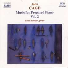 John Cage (1912-1992): Werke für präpariertes Klavier, CD