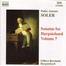 Antonio Soler (1729-1783): Sämtliche Cembalosonaten Vol.7, CD