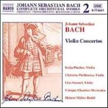 Johann Sebastian Bach (1685-1750): Violinkonzerte BWV 1041-1043,1052, CD