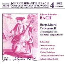 Johann Sebastian Bach (1685-1750): Cembalokonzerte Vol.2, CD