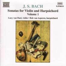 Johann Sebastian Bach (1685-1750): Sonaten für Violine & Cembalo BWV 1014-1017, CD