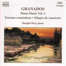 Enrique Granados (1867-1916): Klavierwerke Vol.3, CD