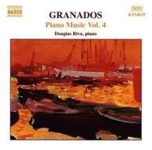 Enrique Granados (1867-1916): Klavierwerke Vol.4, CD
