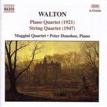 William Walton (1902-1983): Streichquartett a-moll, CD