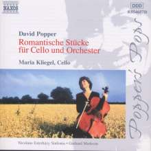 David Popper (1843-1913): Werke für Cello & Klavier, CD