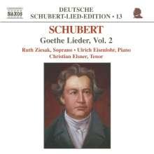 "Franz Schubert (1797-1828): Lieder ""Goethe-Lieder"" Vol.2, CD"
