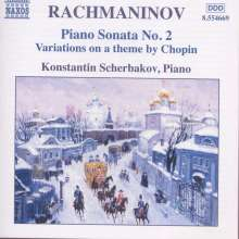 Sergej Rachmaninoff (1873-1943): Chopin-Variationen op.22, CD