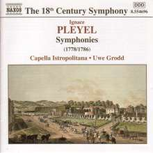 Ignaz Pleyel (1757-1831): Symphonien, CD