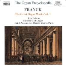 Cesar Franck (1822-1890): Die großen Orgelwerke Vol.1, CD