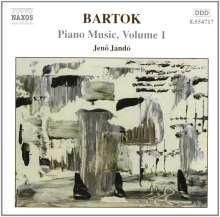 Bela Bartok (1881-1945): Klavierwerke Vol.1, CD