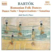 Bela Bartok (1881-1945): Klavierwerke Vol.2, CD