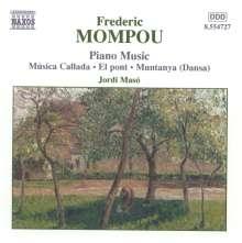 Federico Mompou (1893-1987): Klavierwerke Vol.4, CD