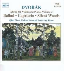 Antonin Dvorak (1841-1904): Werke für Violine & Klavier, CD