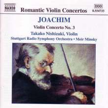 Joseph Joachim (1831-1907): Violinkonzert Nr.3, CD