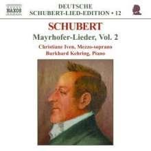 "Franz Schubert (1797-1828): Lieder ""Mayrhofer-Lieder"" Vol.2, CD"