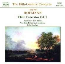Leopold Hofmann (1738-1793): Flötenkonzerte Vol.1, CD