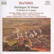 Georg Friedrich Händel (1685-1759): Dettingen Te Deum, CD