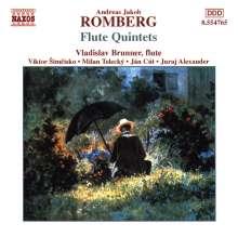 Andreas Romberg (1767-1821): Flötenquintette op.41 Nr.1-3, CD