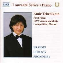 Amir Tebenikhin,Klavier, CD