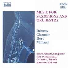 Sohre Rahbari spielt Saxophonkonzerte, CD
