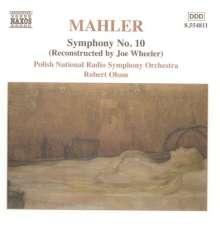 Gustav Mahler (1860-1911): Symphonie Nr.10 (Fassung nach Wheeler), CD