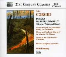 Azio Corghi (geb. 1937): Divara - Wasser & Blut, 2 CDs