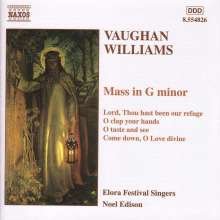 Ralph Vaughan Williams (1872-1958): Messe in g-moll, CD