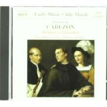 Antonio de Cabezon (1500-1566): Tientos & Glosados, CD