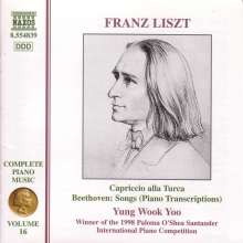 Franz Liszt (1811-1886): Klavierwerke Vol.16, CD