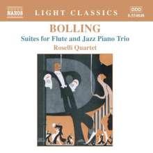 Claude Bolling (1930-2020): Suiten Nr.1 & 2 für Flöte & Jazz Klaviertrio, CD